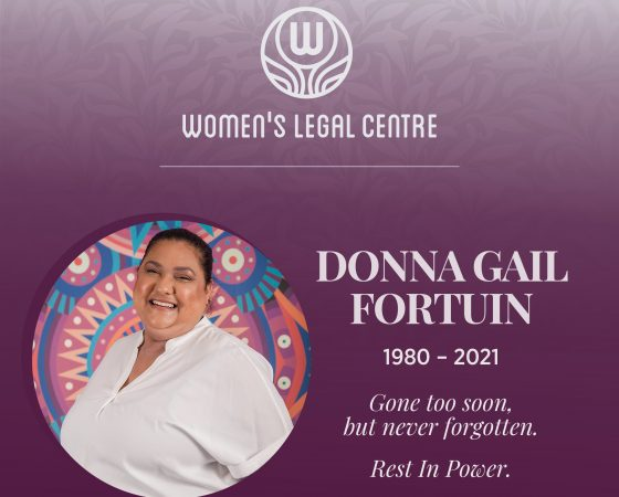 IN REMEMBRANCE OF DONNA GAIL FORTUIN